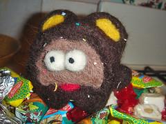 monkey (toyutoy) Tags: animal toy monkey felting handmade craft needle gift notreal