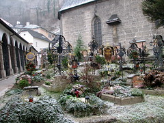 Cemetery at St. Peters in Salzburg