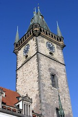 Clock Tower on the Old Town Square
