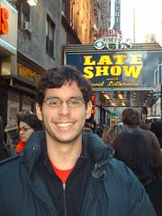 On the line for the Late Show (rfatoday) Tags: nyc cbs lateshowwithdavidletterman ricardoalfaro