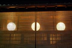 (liveanoptimisticlife) Tags: silhouette japan lights restaurant kyoto sunshade gion japaneseculture