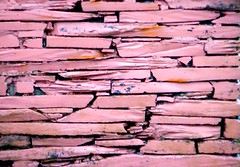 Pink Slate Wall (Delay Tactics) Tags: pink building wall wales mine exterior slate ffestiniog blaenau