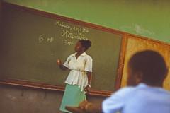 Mathematikunterricht in einer mosambikanischen Schule
