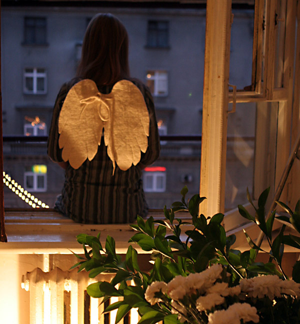The Angel. Moscow. I vizited my friend today