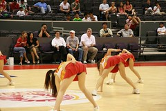 IMG_1295 (doggiesrule04) Tags: girls sexy basketball asian women cheerleaders dancing australia upskirt miniskirt townsville bending singaporean cheergirls nbl nationalbasketballleague singaporeslingers