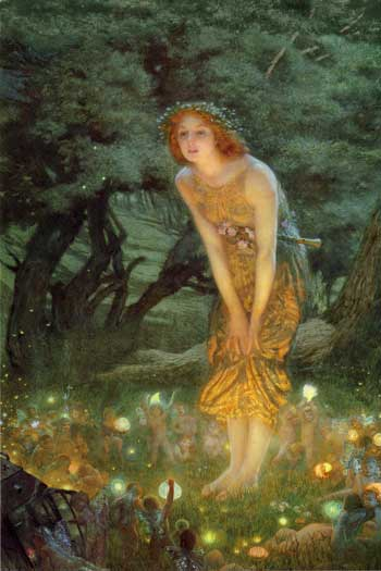 Edward Robert Hughes, Midsummer Eve, 1908