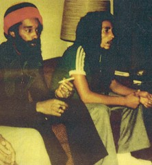 Bob Marley and Blazin' B. - Jamaica, W. I. (Mikey G Ottawa) Tags: music green radio polaroid friend media smoke rip musical jamaica cbc merchandise local musik merch marijuana reggae marley jamaican wi herb polaroid600 bobmarley musique onelove ganja westindies inpirations rootsreggae mikeyg mikeygottawa landcamera600