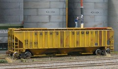 First grain (slambo_42) Tags: modelrailroad graintrain coveredhopper