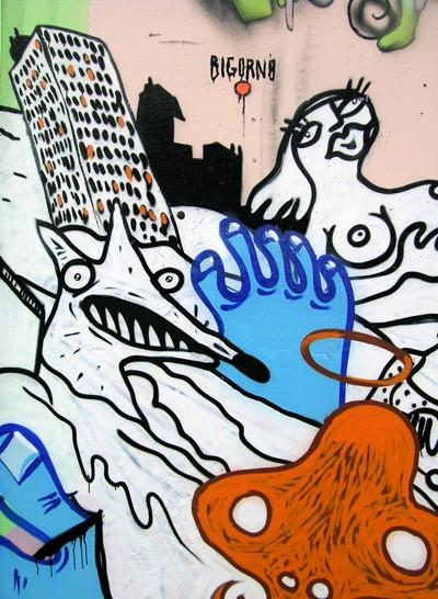 Bigorno_fresque à Marseilles