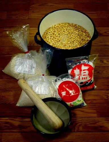 Miso ingredients