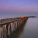 Walton Pier by Moonlight
