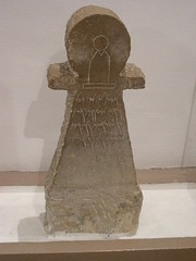 votive stele in the form of goddess tanit (elmina) Tags: tunisia bardomuseum tanit votivestele