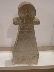 votive stele in the form of goddess tanit (elmina) Tags: tunisia bardomuseum tanit votivestele