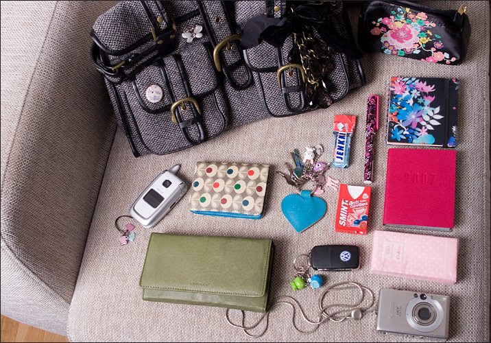 What's in my bag - Finnish edition