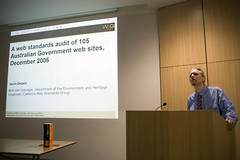 Gavin Dispain talking on Australia Government web sites