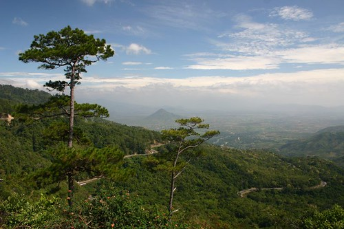 Fantastic views on the downhill from the Dalat Mts. down to the South China Sea...