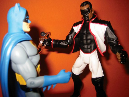 Batman and Mr. Terrific