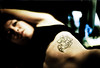 The Illustrated Woman III (TommyOshima) Tags: tattoo kyoto maki bodylanguage olympus zuiko om2 刺青 f12 catclaw