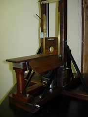 Guillotine 1907 Bascule (andreobrecht) Tags: france deathpenalty beheading berger guillotine decapitation boisdejustice