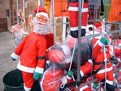 Klimmende kerstman