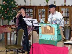 Gelzy et Peire et l'orgue de barbarie