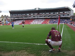 The last ever game at Highbury (bobbymond) Tags: clock corner arse henry highbury arsenal thierryhenry wigan davidthompson wiganathletic fabregas clockend cescfabregas arsespeak
