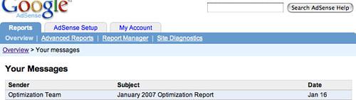 Google AdSense Optimization Report 2