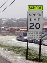 Speed Limit Sign