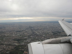 飛行在法國的天空