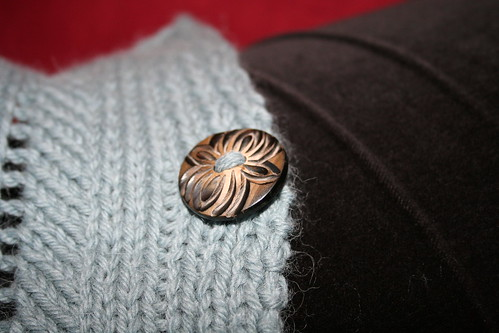Ariann - closeup of button