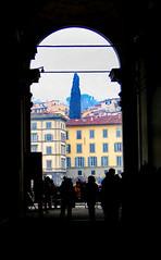 Waiting in line at the Uffizi Gallery (bengal*foam) Tags: italy florence uffizi