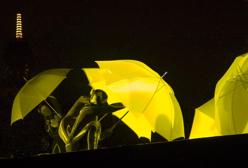Umbrellas Attack