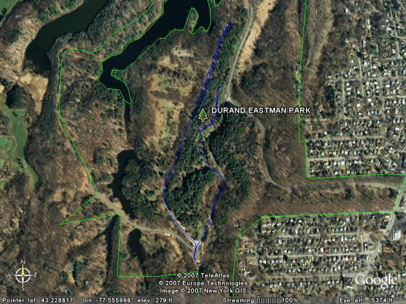 Durand-Eastman XC Loop GPS