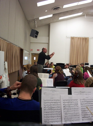 USFSO rehearsal