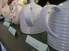 Tea Pots all in a Row