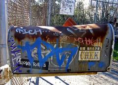 (Heart of Oak) Tags: streetart art graffiti bay rich style area vandalism graff piece chek tdk eastoakland bayareagraffiti