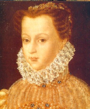 Catherine de Medici, in an undated portrait
