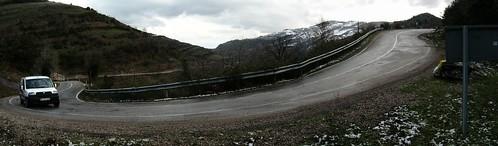 Endless tough slopes near Kurucasile, Black Sea coast of Turkey