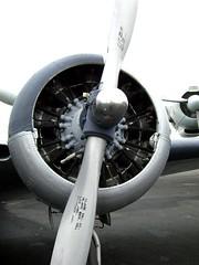 Beech UC-45J Expediter propeller (thoushallsee) Tags: airplane engine propeller expediter uc45j beechuc45j uc45