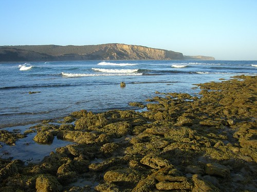 Looking back towards Bells Beach from Point Addis
