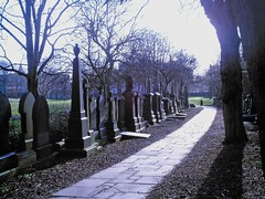 University of Leeds graveyard