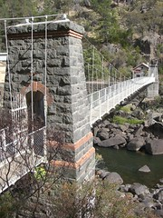 Hydro Station Suspension Bridge