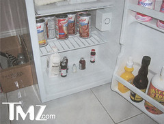 Anna Nicole's fridge