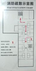 FIAE EVACUATION CHART