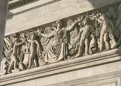 Arc de Triomphe, Paris (lgp2) Tags: paris france frana arcdetriomphe dtail lgp2