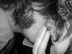 nosey lips (Prabir's So Called Life) Tags: nose andrea lips gross yuck bleh eww prabir grossynoseylips