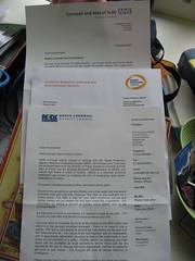 Letters about Radon