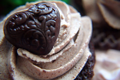 Mayan Chocolate Cupcakes (with recipe) (sugar-bliss gnome) Tags: food cooking recipe chocolate cupcake mayan spicy sweetcandy 25faves