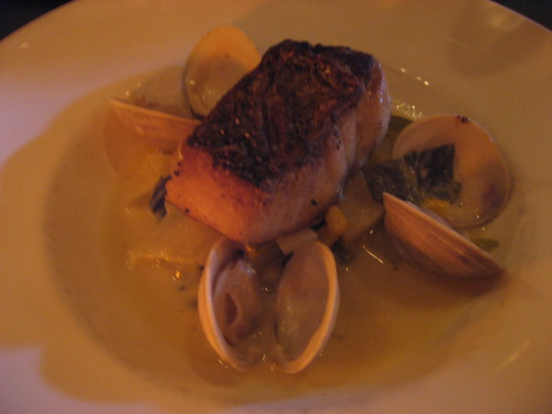 bass and mussels