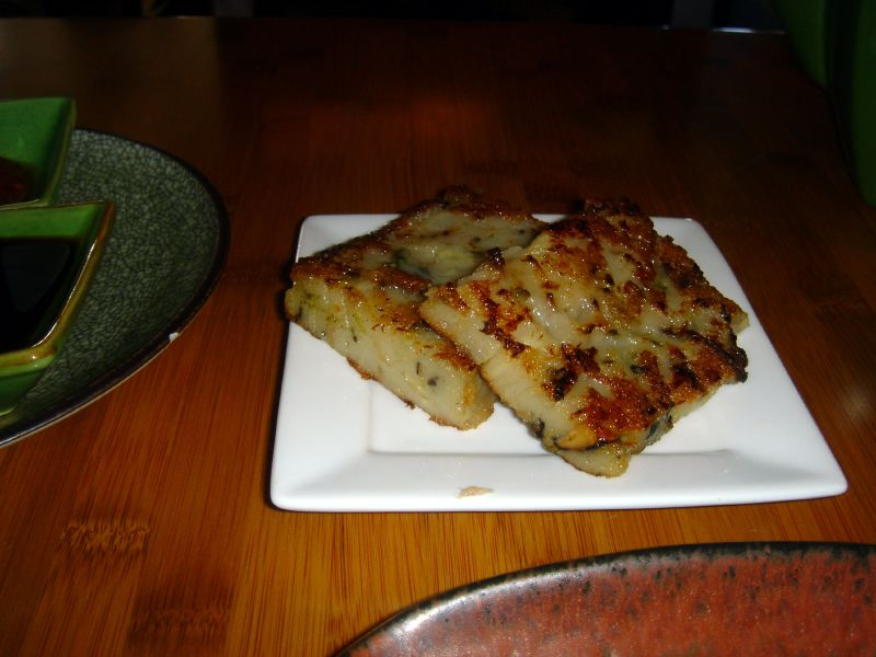 Grilled Turnip Cake